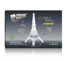 3D Crystal Puzzle Эйфелева Башня со светом 29017A