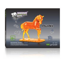 3D Crystal Puzzle Лошадь XL 9018