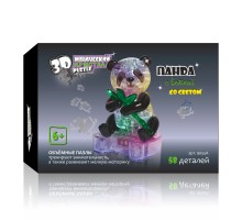 3D Crystal Puzzle Панда 9055A