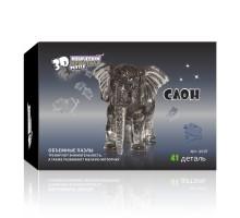 3D Crystal Puzzle Слон 9058