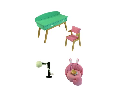 MiniHouse Мой дом 9 в 1: Мой кабинет S2006