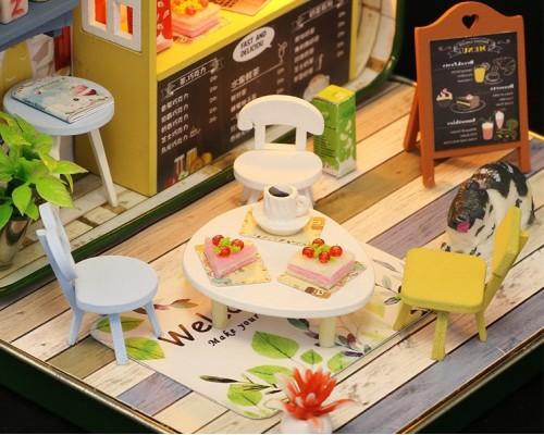 MiniHouse Румбокс в шкатулке: Летнее кафе S933